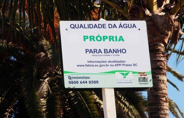 Resultado do relatório de balneabilidade da costa catarinense de outubro é o melhor de 2019