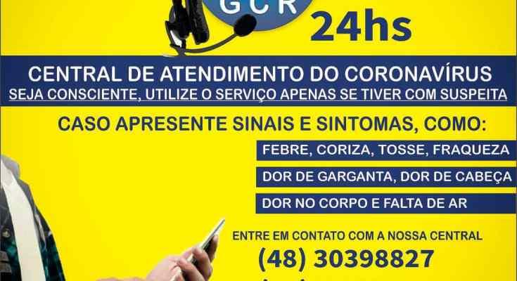 GOVERNADOR.CELSO RAMOS CRIA CENTRAL DE ATENDIMENTO SOBRE CORONAVÍRUS (COVID-19)
