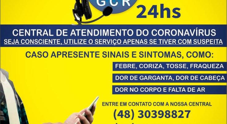 Município de Governador Celso Ramos registra mais dois casos de COVID-19