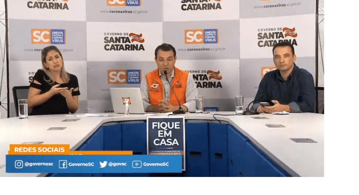 01/04 – Coletiva de Imprensa: Ações do Governo de Santa Catarina no combate ao coranavírus