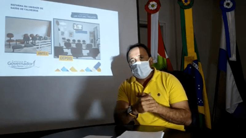22/04 – Live do Prefeito Juliano Duarte Campos do Município de Governador Celso Ramos
