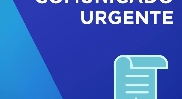 SAMAE de Governador Celso Ramos: Comunicado Urgente de abastecimento interrompido