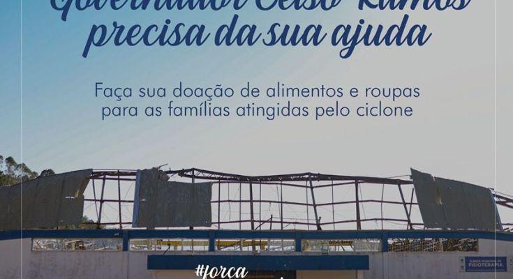 Há famílias em Governador Celso Ramos precisando da nossa ajuda