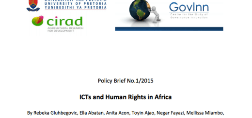 ICT and Human Rights in Africa