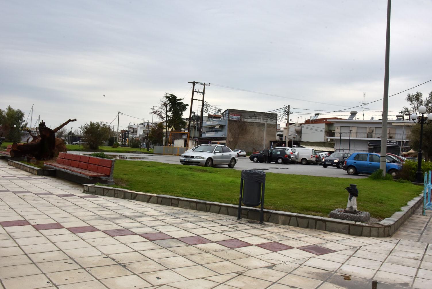 Δήμος Νέας Προποντίδας | Αξιοποίηση έκτασης για δημιουργία χώρου στάθμευσης