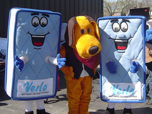 Mattress II Society But mascots like Mattress Man may actually represent a more fundamental  debate