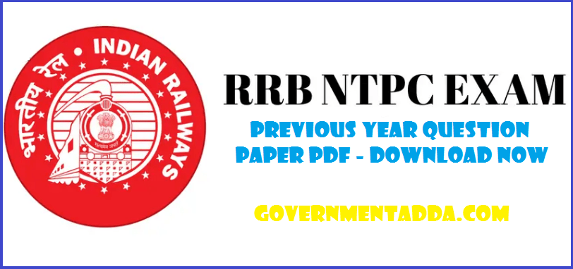 150+ RRB NTPC Previous Year Question Paper Pdf – Download