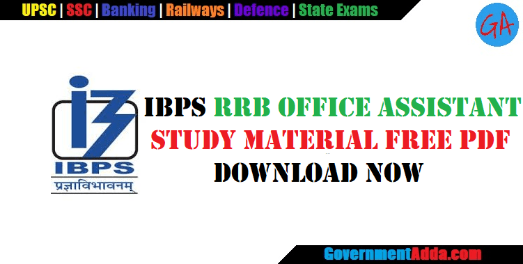 IBPS RRB PO Clerk Study Material | Books| PDF| Notes| Quant