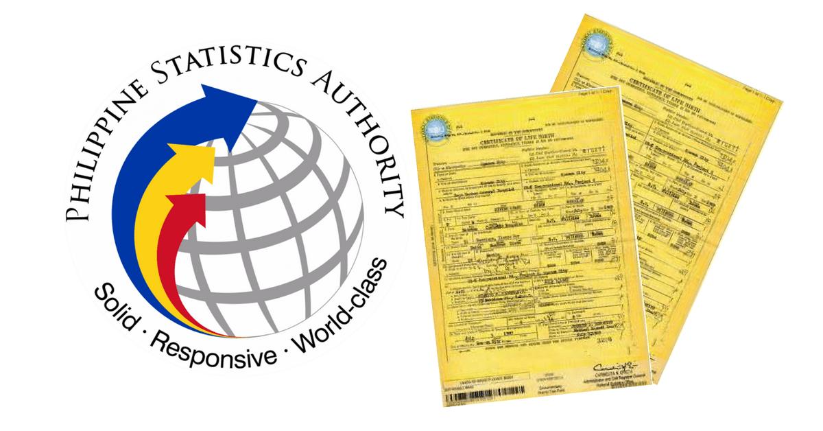 Online Application: PSA Certificates (Birth, Marriage, Death & CENOMAR)