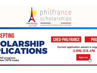 CHED-PhilFrance Scholarship 2018