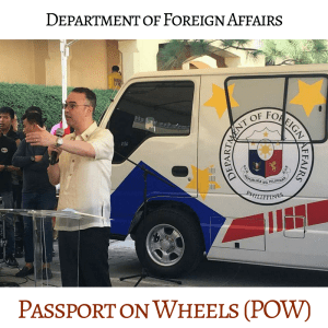 Passport on Wheels Facebook Page