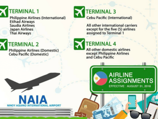 New NAIA Airline Assignments