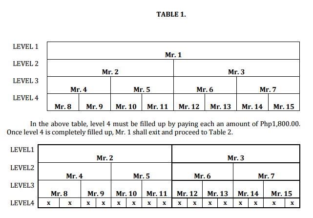 PlanProMatrix Table of Exit