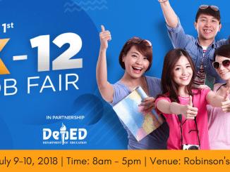 K12 Job Fair 2018