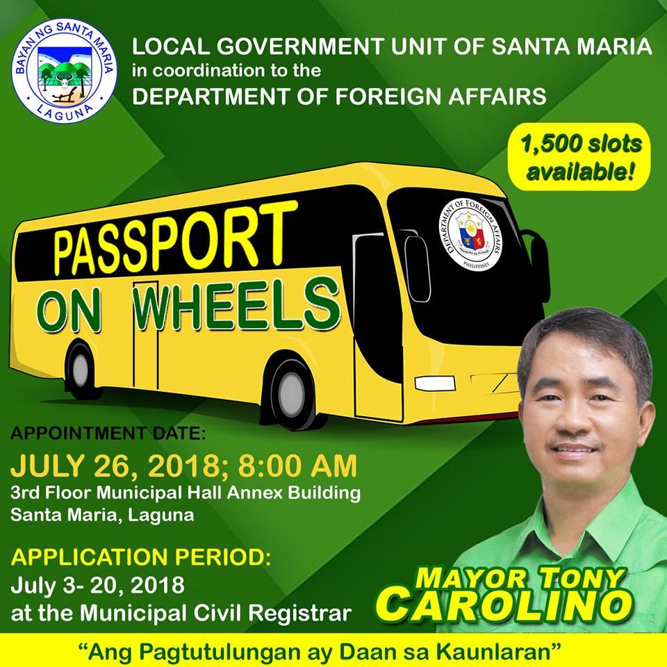 Passport on Wheels in Santa Maria Laguna July