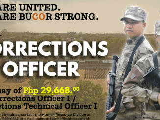 BuCor is Hiring Corrections Officers