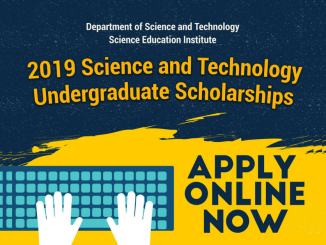DOST Undergraduate Scholarship 2019 Online Application