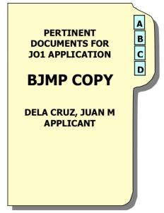 BJMP Sample Folder