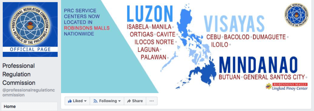 PRC Official Facebook Page