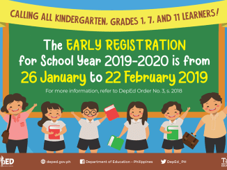 Deped Early Registration 2019