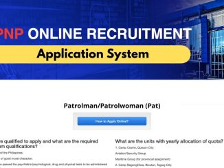 PNP Oras Online