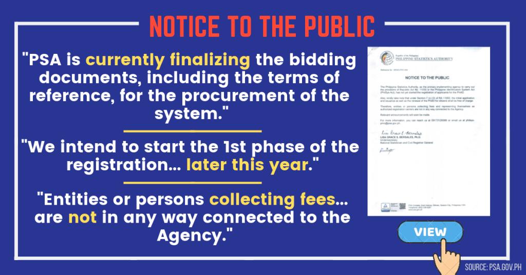 Public Notice PSA