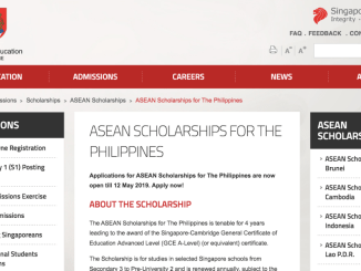 ASEAN Scholarships for the Philippines