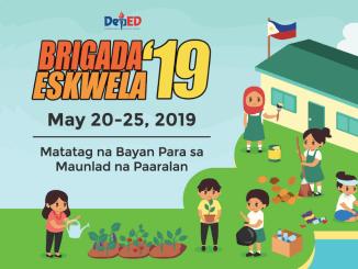 Brigada Eskwela 2019 May 20-25