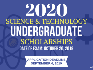 DOST Scholarship 2020 Application