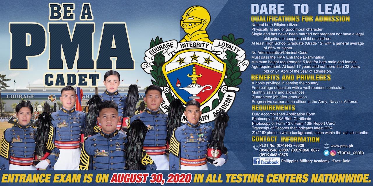 PMA Cadet 2020
