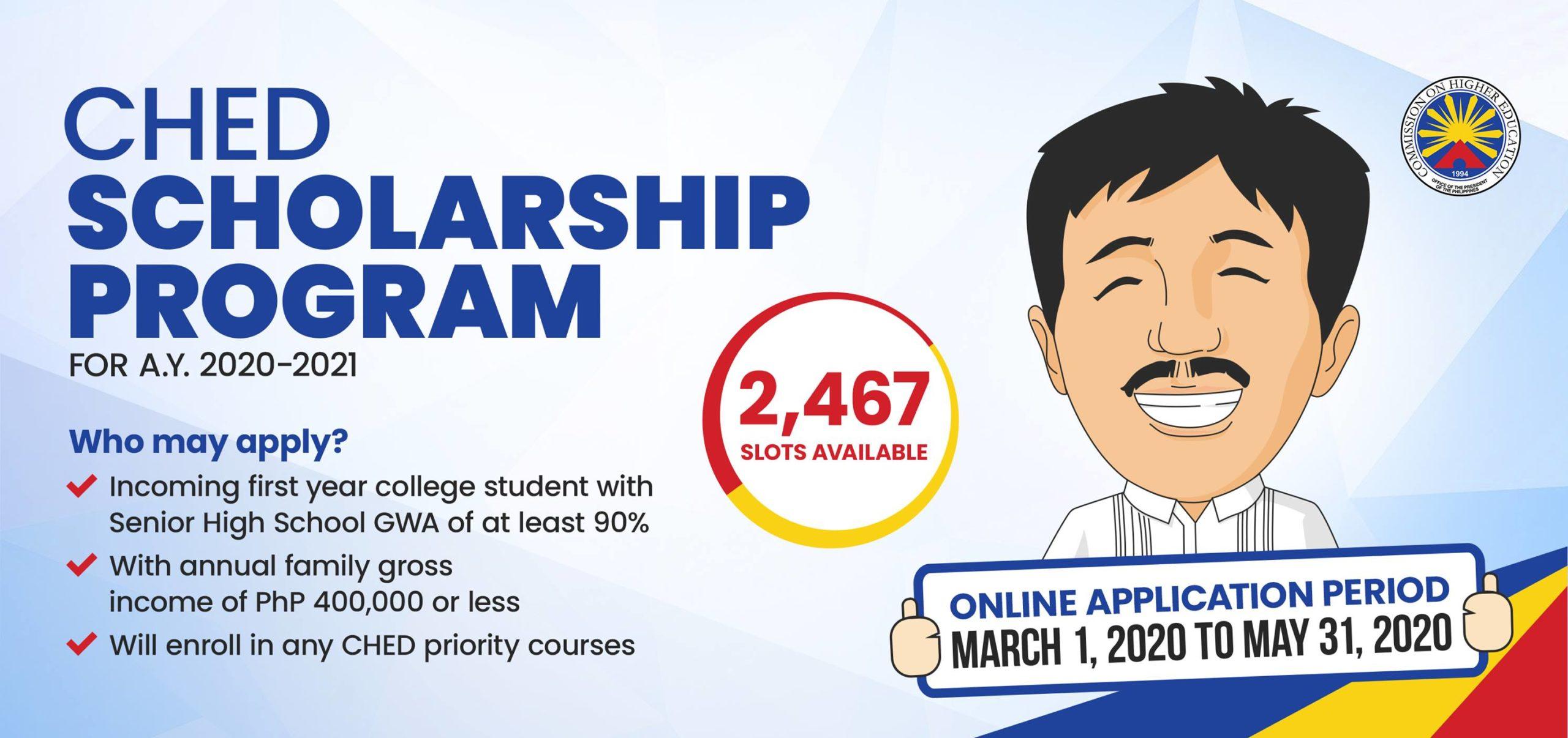 CHED Scholarship Program Details