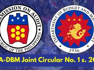 COA DBM Circular 1 s 2020