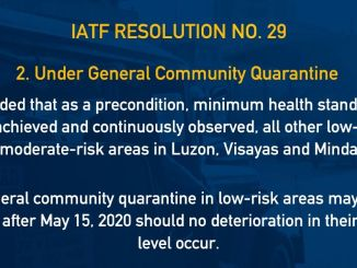 IATF Resolution 29 GCQ