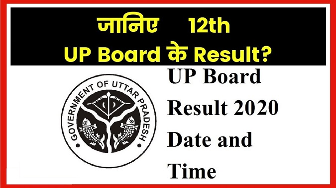 UP Board Result 12th 2020