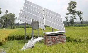 free energy efficient, solar pump set
