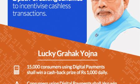 How to see Lucky Grahak Yojana and Digi Dhan Vyapari Yojana results