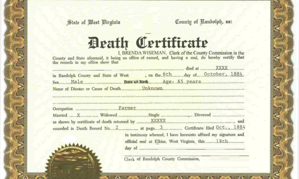 Online Procedure for Application of Death Certificate in Maharashtra ...