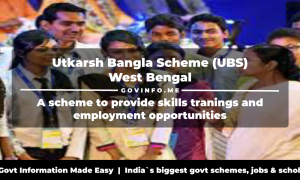 Utkarsh Bangla Scheme (UBS) West Bengal 6 lakh students will be provided skills education