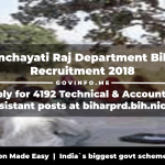 Panchayati Raj Department Bihar