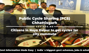 Public Cycle Sharing (PCS) Chhattisgarh Citizens in Naya Raipur to get cycles for city commute