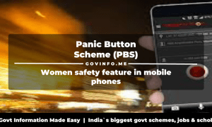 Panic Button Scheme (PBS)