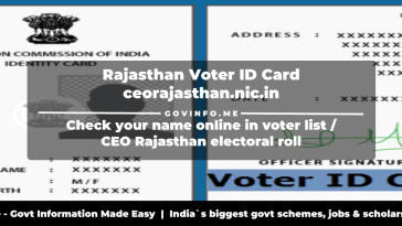 election commission of india identity card rajasthan download