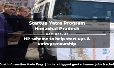 HP CM Startup Yatra Program
