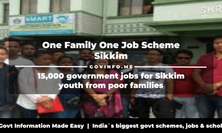 One Family One Job Scheme