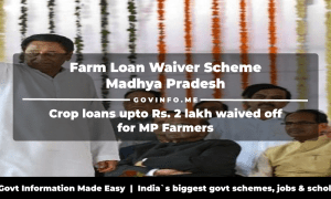 MP Farm Loan Waiver Scheme Crop loans upto Rs. 2 lakh waived off for Madhya Pradesh Farmers
