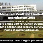 Mahanadi Coalfield Limited