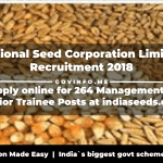 National Seed Corporation Limited