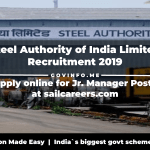 Steel Authority of India Limited
