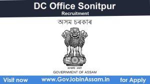 DC Sonitpur Recruitment 2021