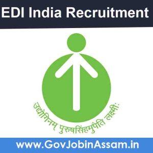 EDI India Recruitment 2021